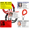 Medic Alert and Information ID Cards - Fully Customizable! Full Color images or greyscale photo options.