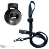 adjustable cord lock for mask lanyards