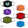 Full Color Printed Cotton Fabric Face Masks