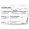 Bus Conduct Report - #175 4-part NCR form - White, Blue, Pink, Yellow