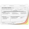 Bus Conduct Report Form - 3 Part carbonless - #174