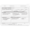 Bus Conduct Report Form - 3 Part NCR Paper - White, Pink, Yellow - #174