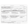 Bus Conduct Report Form - 3 Part NCR Paper - with optional Imprint