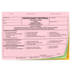 Disciplinary Referral - 3 part carbonless form (155) with optional Imprint