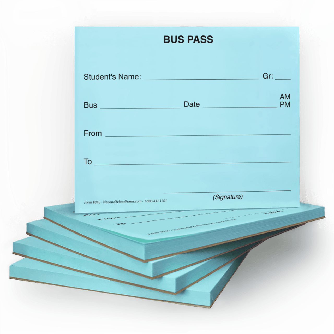 Bus Pass Pad (046)