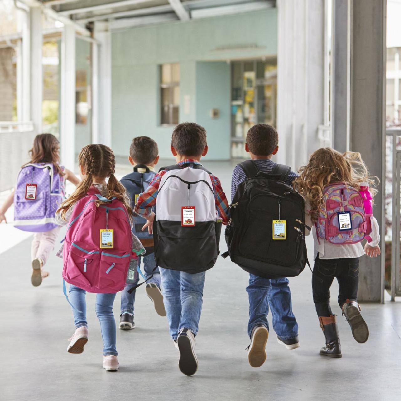 Bus Tag / Student ID Tags Custom Layout