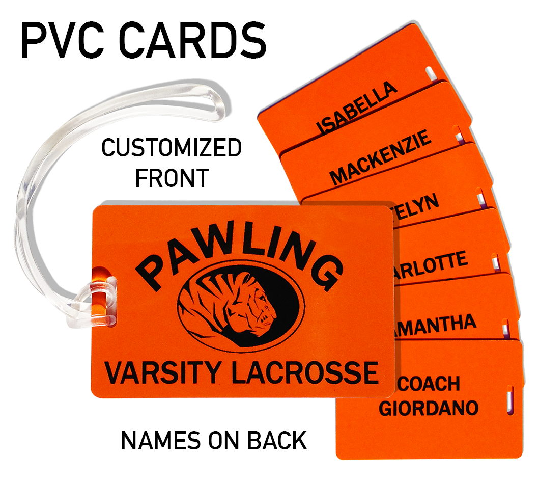 Identify your property with these durable PVC Bag Tags