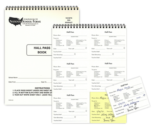 This is a graphic of Hall Pass Printable within library