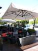 NAPOLI - Commercial Cantilever Umbrella 10'x10'