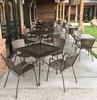 "CAFE' 32""x32"" OUTDOOR DINING SET (Bronze)"
