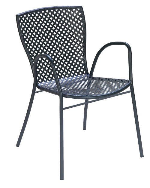 "LUNA - 5 Piece Steel Patio Set 43"" Round"