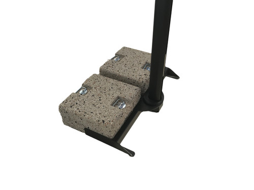 Base frame for 4 stone weights