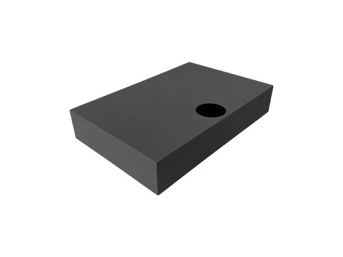 Steel cover for base