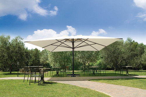 CAPRI - Giant Telescopic Umbrella + Base 16'x16' or 20'x20'