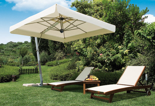 NAPOLI - Commercial Cantilever Umbrella 10'x10'