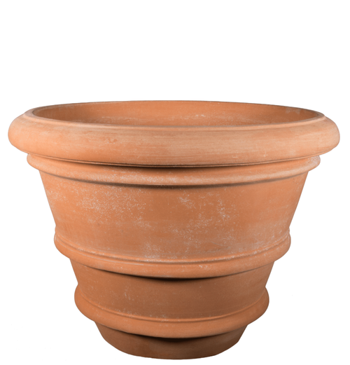 VASO LISCIO - Large Italian Terracotta Pot