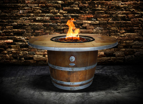 ENTHUSIAST - Wine Barrel Fire Pit