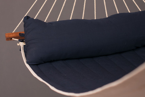 CLASSIC WOOD HAMMOCK SET - NAVY (out of stock)