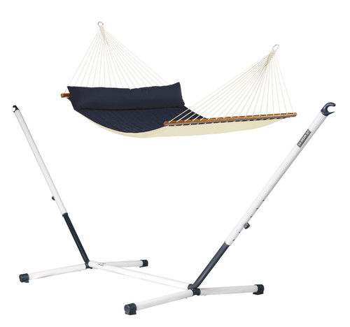 DELUXE PORTABLE HAMMOCK SET - NAVY (out of stock)