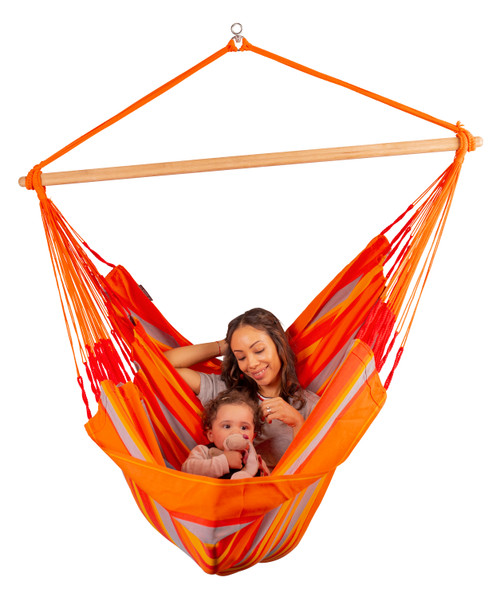 KINGSIZE HAMMOCK CHAIR SET - FIESTA