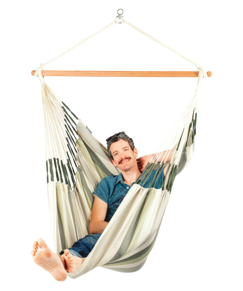 KINGSIZE HAMMOCK CHAIR SET - SAGE