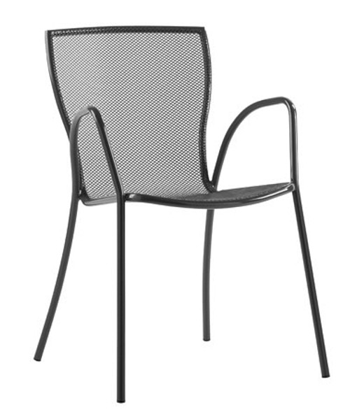 Comfortable quick-dry wire mesh seat stays clean.