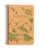 Sea Turtles Decomposition Spiral Notebook - Pocket Sized