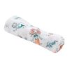 Mermaid Single Luxury Muslin Swaddle Blanket