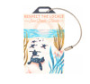 Respect The Locals Hatchlings on Beach Luggage Tag