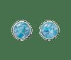 Recovered Ocean Plastic Sterling Silver Stud Earrings