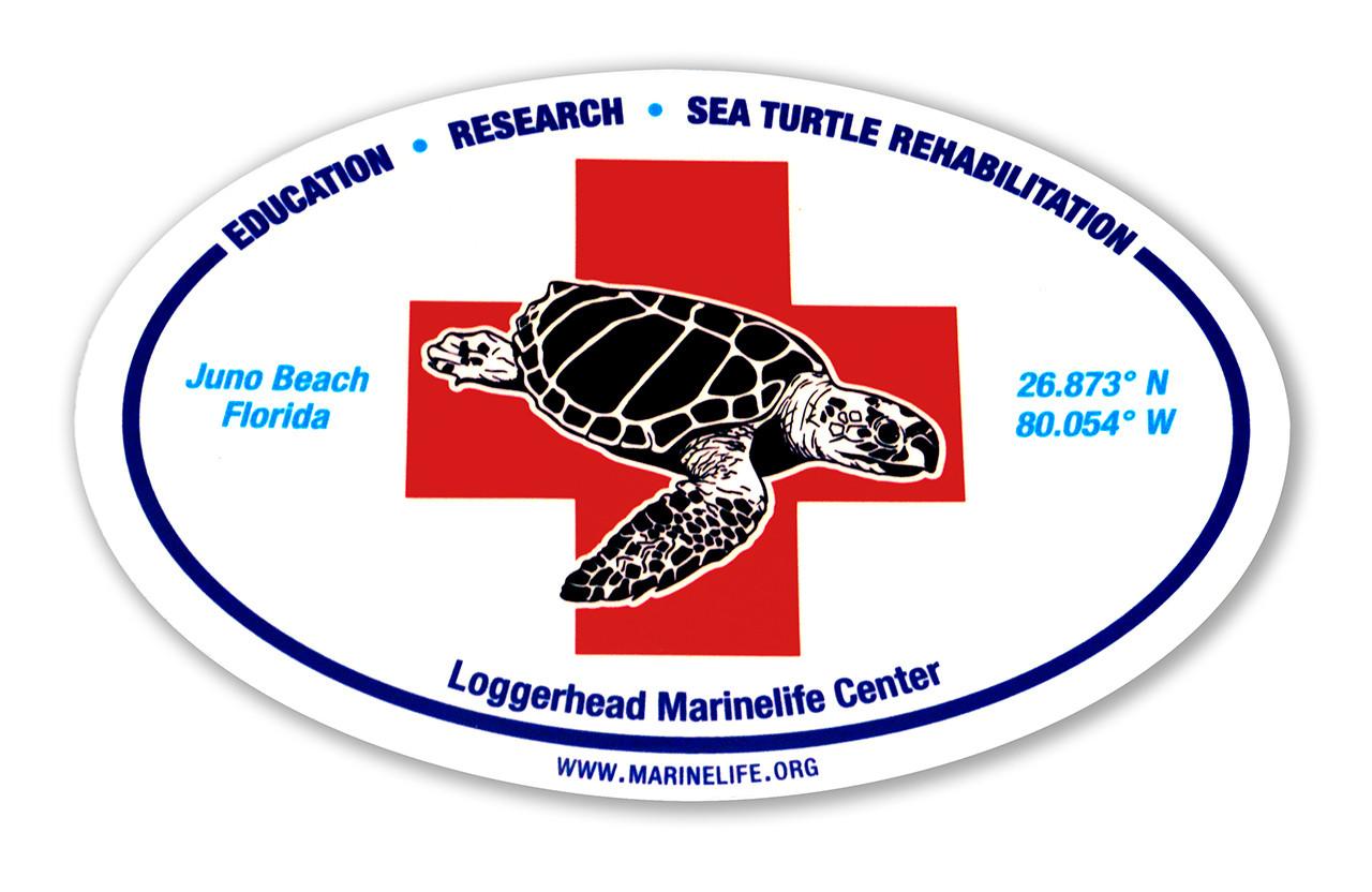ec0e4cd87f5 LMC Rescue Sticker - loggerhead