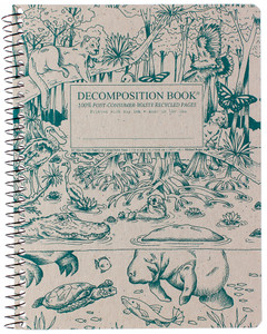 Everglades Decomposition Spiral Notebook