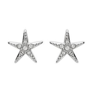 Starfish Stud Swarovski Crystal Earrings - ShanOre