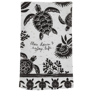 Boho Tea Towel - Slow Down & Enjoy Life