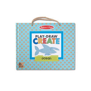 Play, Draw, Create Reusable Drawing & Magnet Kit - Ocean