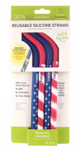 Cool Straws - Stars & Stripes