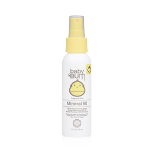 Mineral SPF 50 Sunscreen Spray - Fragrance Free