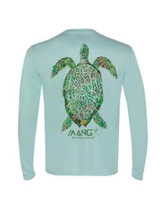 Men's Long Sleeve Dri Fit Sea Turtle