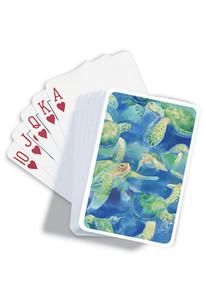 Swimming Honu Sea Turtle Playing Cards