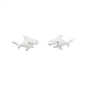 Happy Shark Stud Earrings