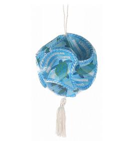 Swimming Sea Turtles Paper Globe Ornament