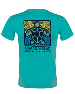 Bold Sea Turtle Short Sleeve T-Shirt