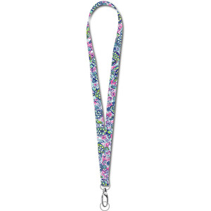 Tropical Sea Turtle Lanyard