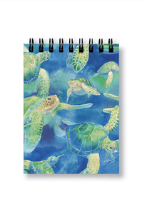 Swimming Honu Small Notebook