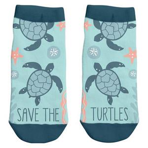 Save The Turtles Ankle Socks