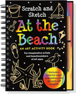 Scratch and Sketch - At the Beach