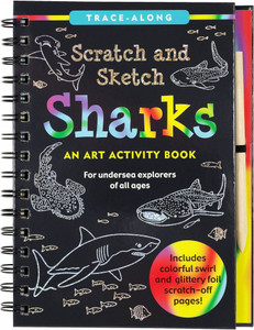 Scratch and Sketch - Sharks