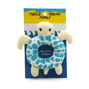 Buzz Turtle Baby Rattle