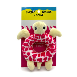 Star Turtle Baby Rattle