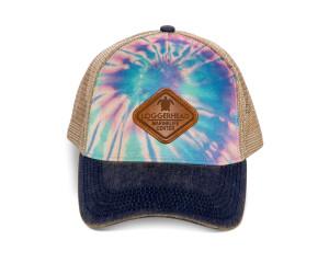 Tie Dye Trucker LMC Hat - Diamond Patch